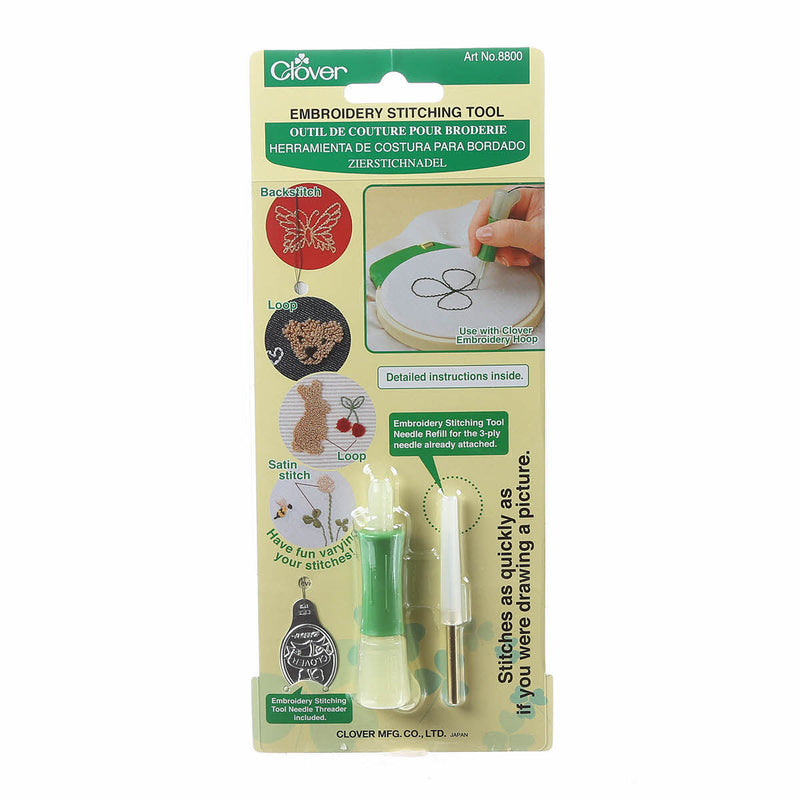 Clover Embroidery Stitching (Needle Punch) Tool
