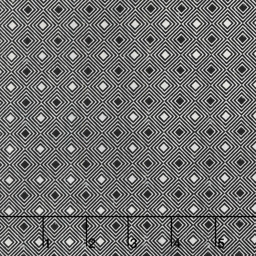 Eclectic Elements Dapper Diamonds Black Fabric Yardage PWTH071.8BLAC