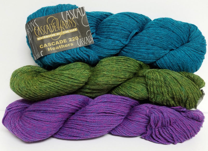 Cascade 220 Heathers - Cascade Yarns | Ann's By Design