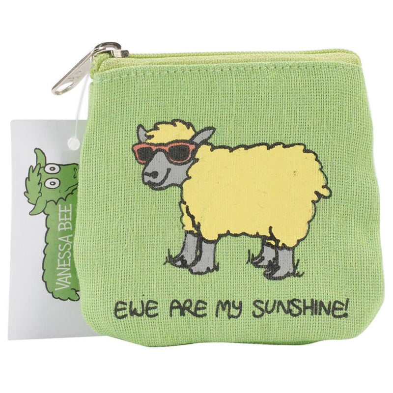 Vanessa Bee Ewe Are My Sunshine Mini Coin Purse | Ann's By Design