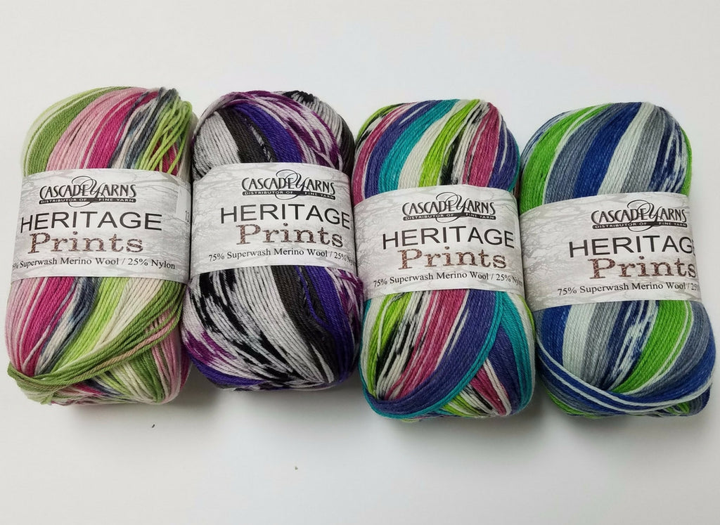 Cascade Yarns - Heritage Prints | Ann's By Design