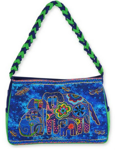 Laurel Burch Canine Family Medium Hobo Bag LB4853