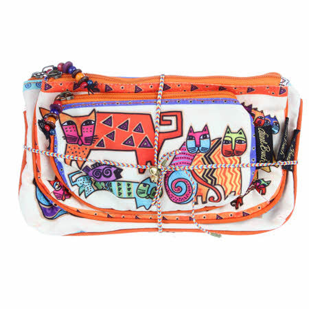 Laurel Burch Cosmetic Bags 3-pack, Karly's Cats | Ann's By Design