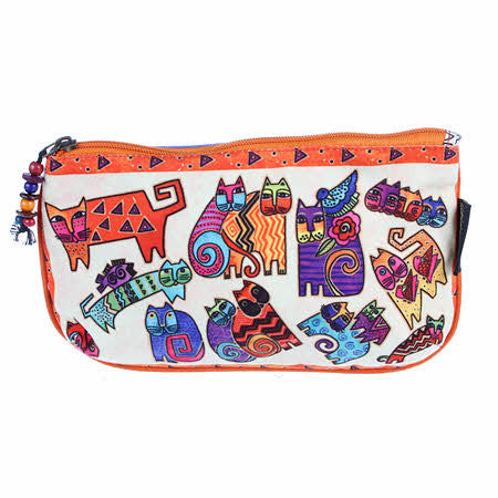 Laurel Burch Karly's Cats Cosmetic Bags 3-pack LB5337 | Ann's By Design