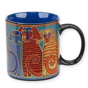 Laurel Burch Canine Friends 14oz Mug - LBM322