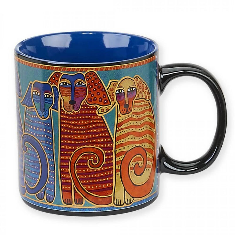 Laurel Burch Canine Friends 14oz Mug - LBM322 | Ann's By Design