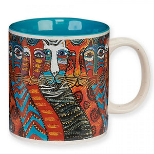 Laurel Burch Gatos 14oz Mug - LB325