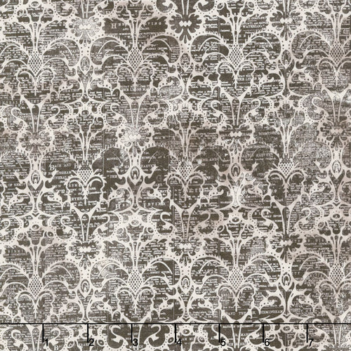 Eclectic Elements Dapper Damask Neutral Fabric Yardage PWTH069.8NEUT