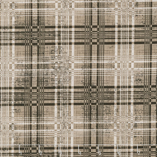 Eclectic Elements Dapper Plaid Neutral Fabric Yardage PWTH070.8NEUT