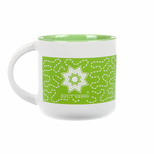 Quilt Happy Meandering Mug 14oz