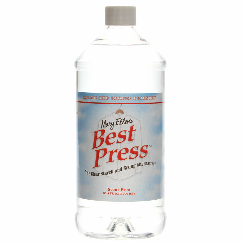 Best Press Spray Starch Scent Free 32oz | Ann's By Design