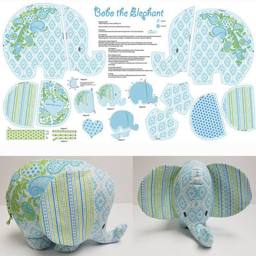 Bobo Baby - Bobo The Elephant Multi Panel