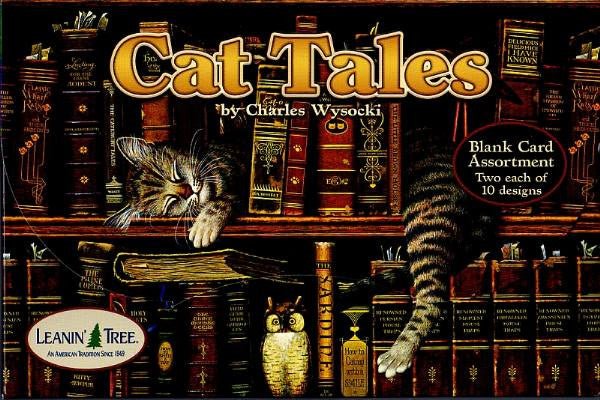 Cat Tales by Charles Wysocki Blank Card Assortment | Ann's By Design