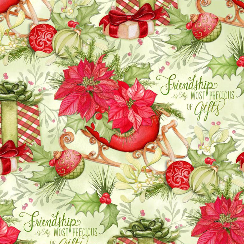 Christmas Precious Gifts Multi Fabric Yardage 18002 | Ann's By Design