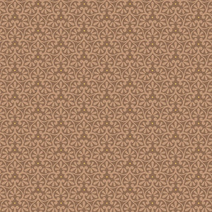 Yuna (Calm) Flower Geo Lt Tan Fabric Yardage 24985-A | Ann's By Design