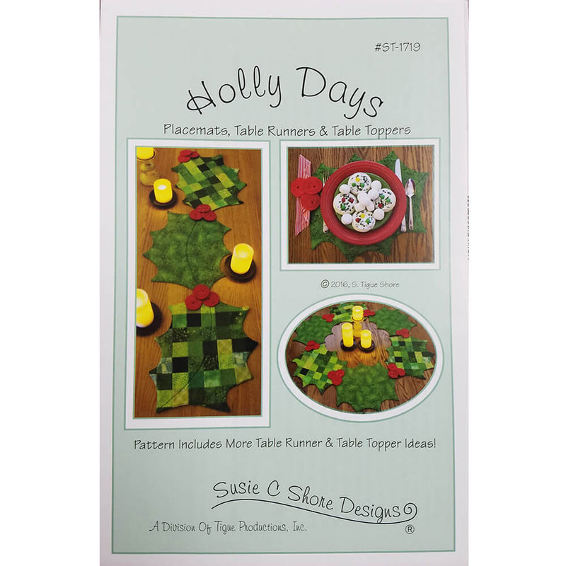 Holly Days Pattern | Ann's By Design