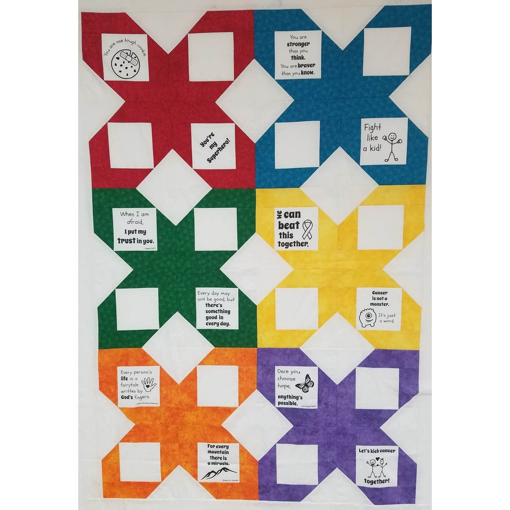 Survivor Quilts for Kids (includes backing + binding) | Ann's By Design