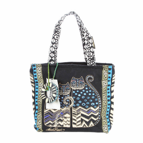 Laurel Burch Polka Dot Gatos Small Tote LB4314