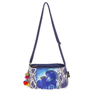 Laurel Burch Indigo Mares Small Crossbody Bag LB593