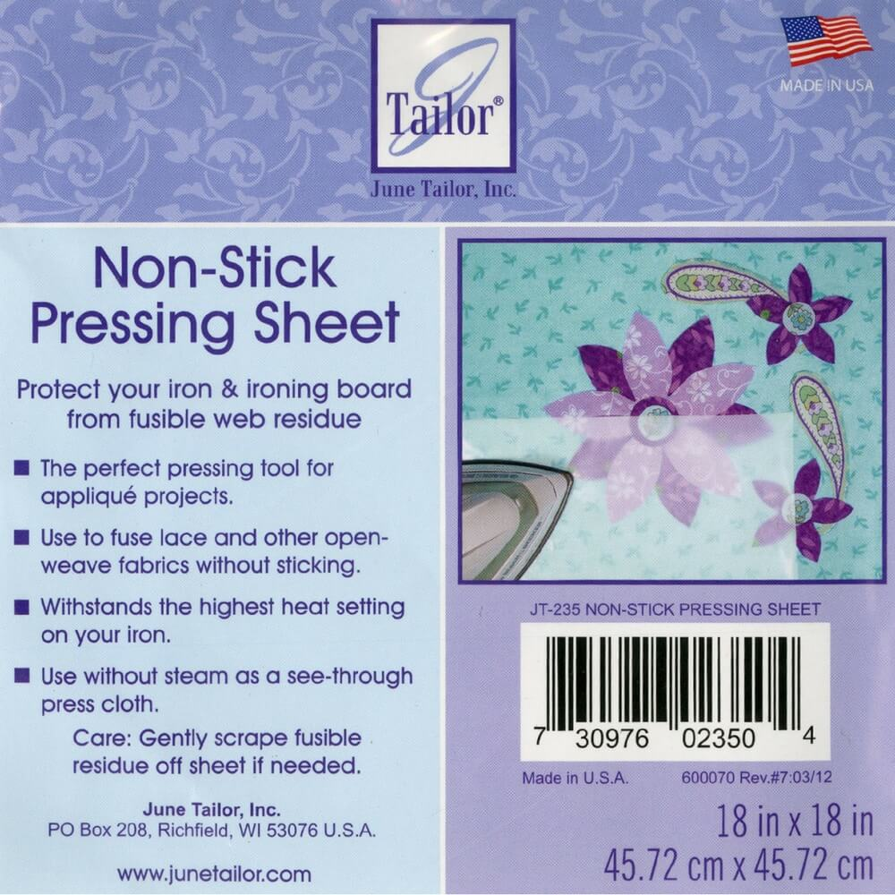 Non-Stick Pressing Sheet - 18in x 18in