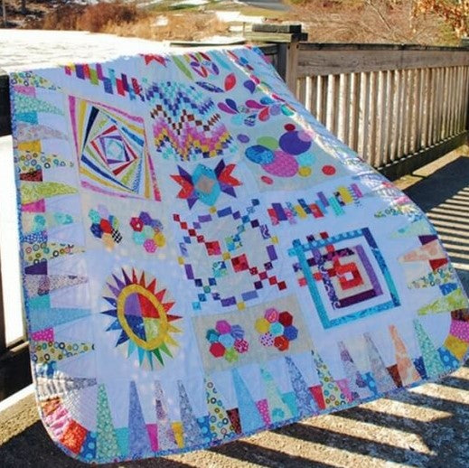 Scrap Happy Block of the Month Quilt | Ann's By Design