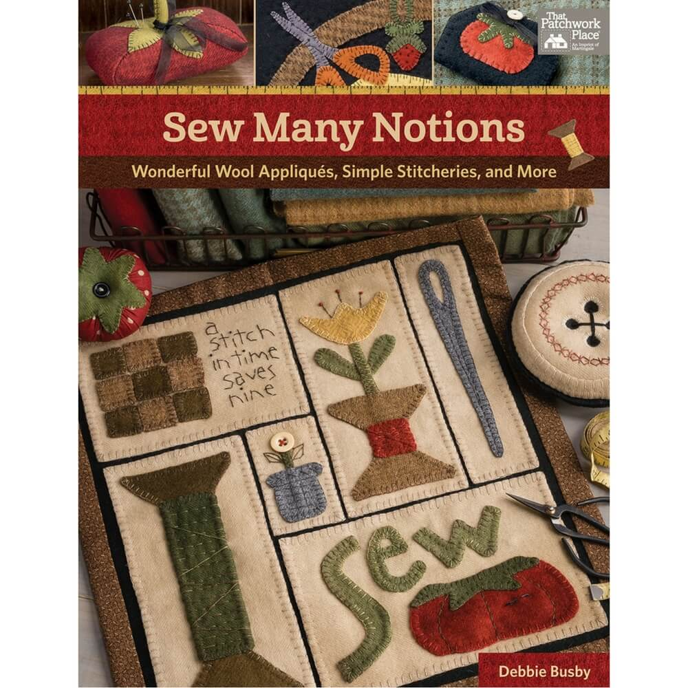 Sew Many Notions by Debbie Busby - Softcover | Ann's By Design