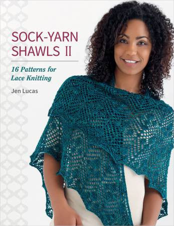 Sock Yarn Shawls II - Softcover | Ann's By Design