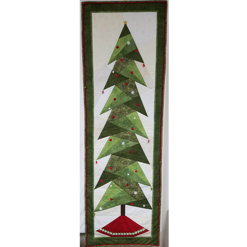 Tall Trim The Tree Wall Hanging Fabric Kit | Ann's By Design