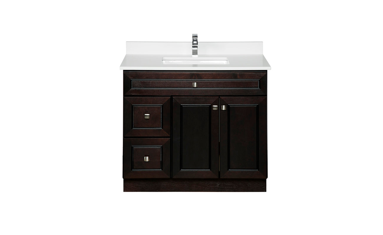 Semi-Custom Wood Vanities – Broadway Vanities