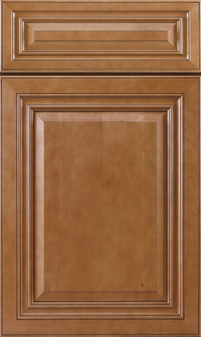Cinnamon Raised Panel Bathroom Cabinet Door Profile