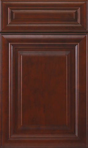 Mahogany Bathroom Cabinet Door Profile