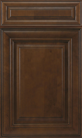 Chocolate Maple Glazed Raised Cabinet Door Panel