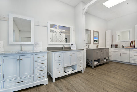 Broadway Vanities Bathroom Showroom