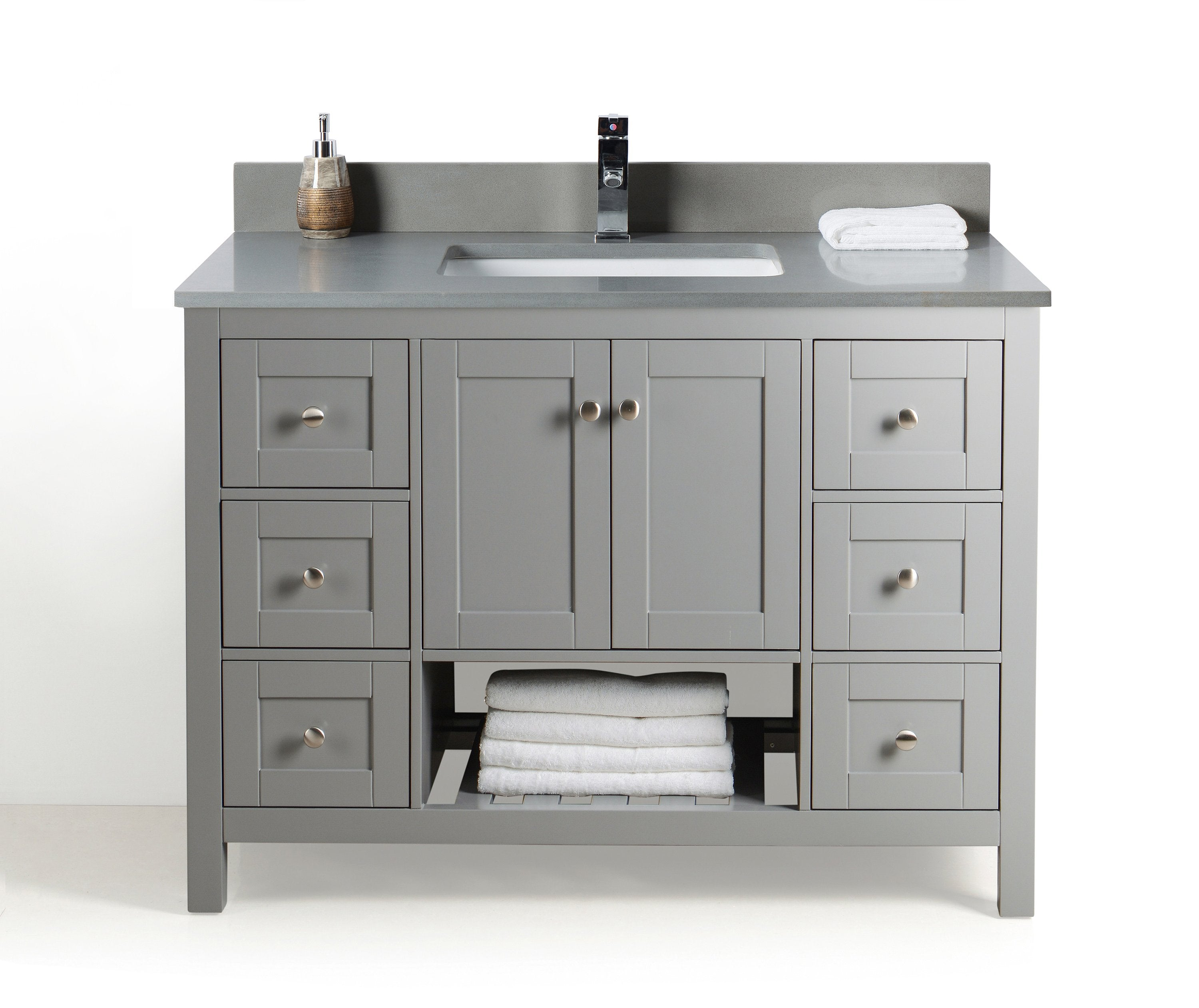 single usa in ms caroline gr estate virtu set wmsq grey bathroom vanity