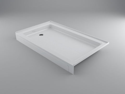 "Acrylic Shower Base in White 30"" x 60"""