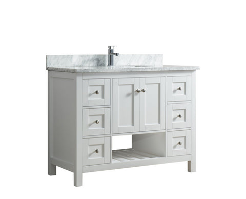 45 inch Bathroom Vanity Without Top