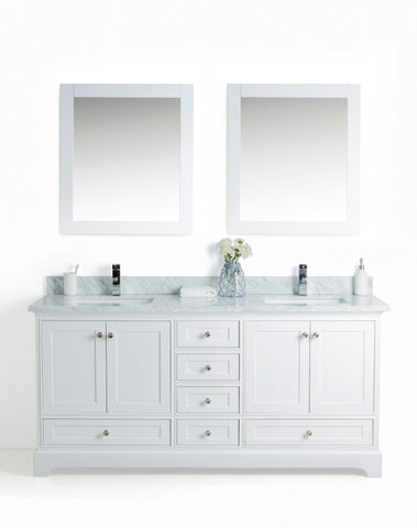 Bathroom Vanity Set with Matching Mirrors