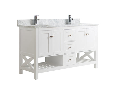 Freestanding Double Sink Vanity