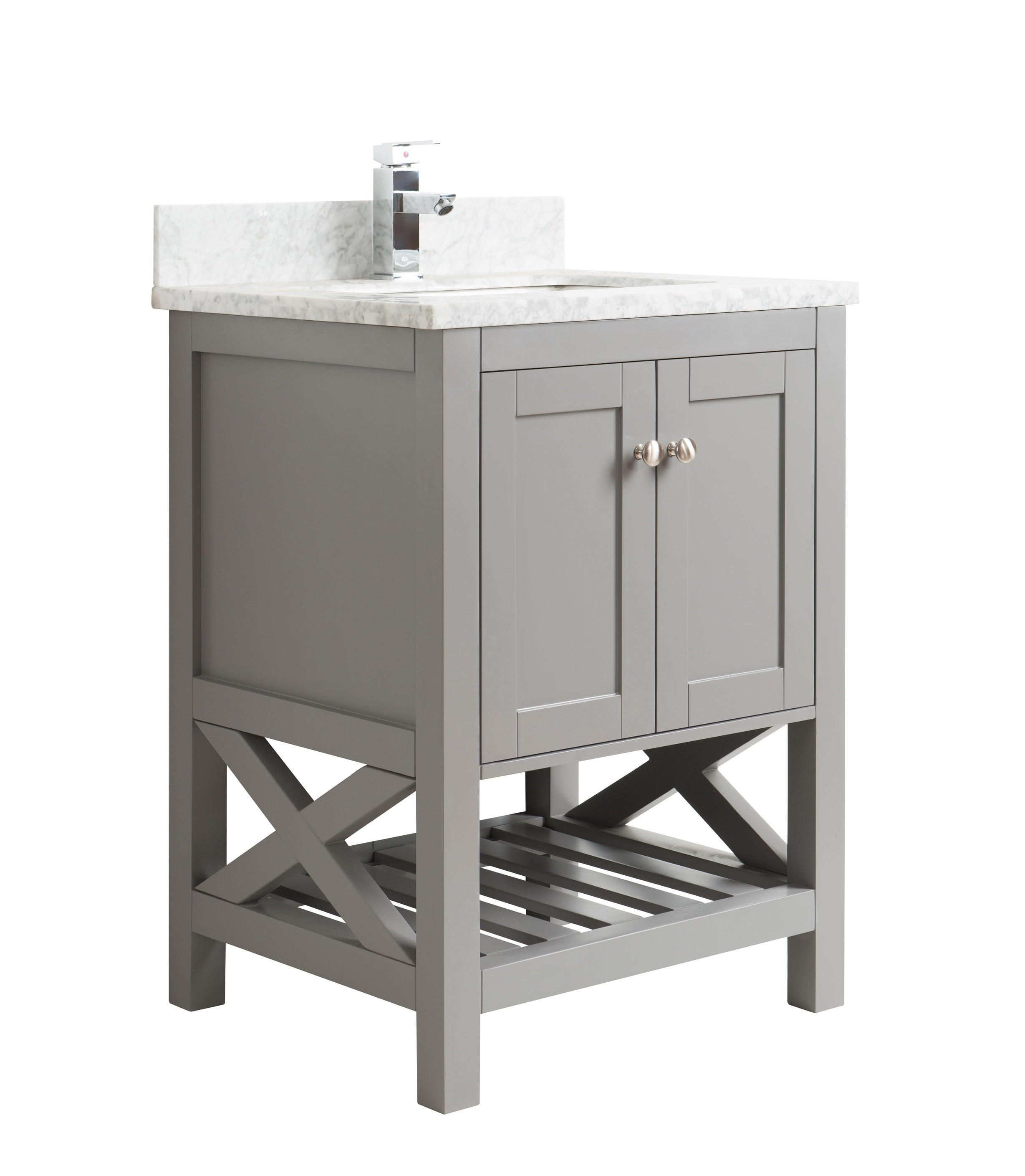 Admirable 24 Taiya Bathroom Vanity In Grey Rock Download Free Architecture Designs Ogrambritishbridgeorg