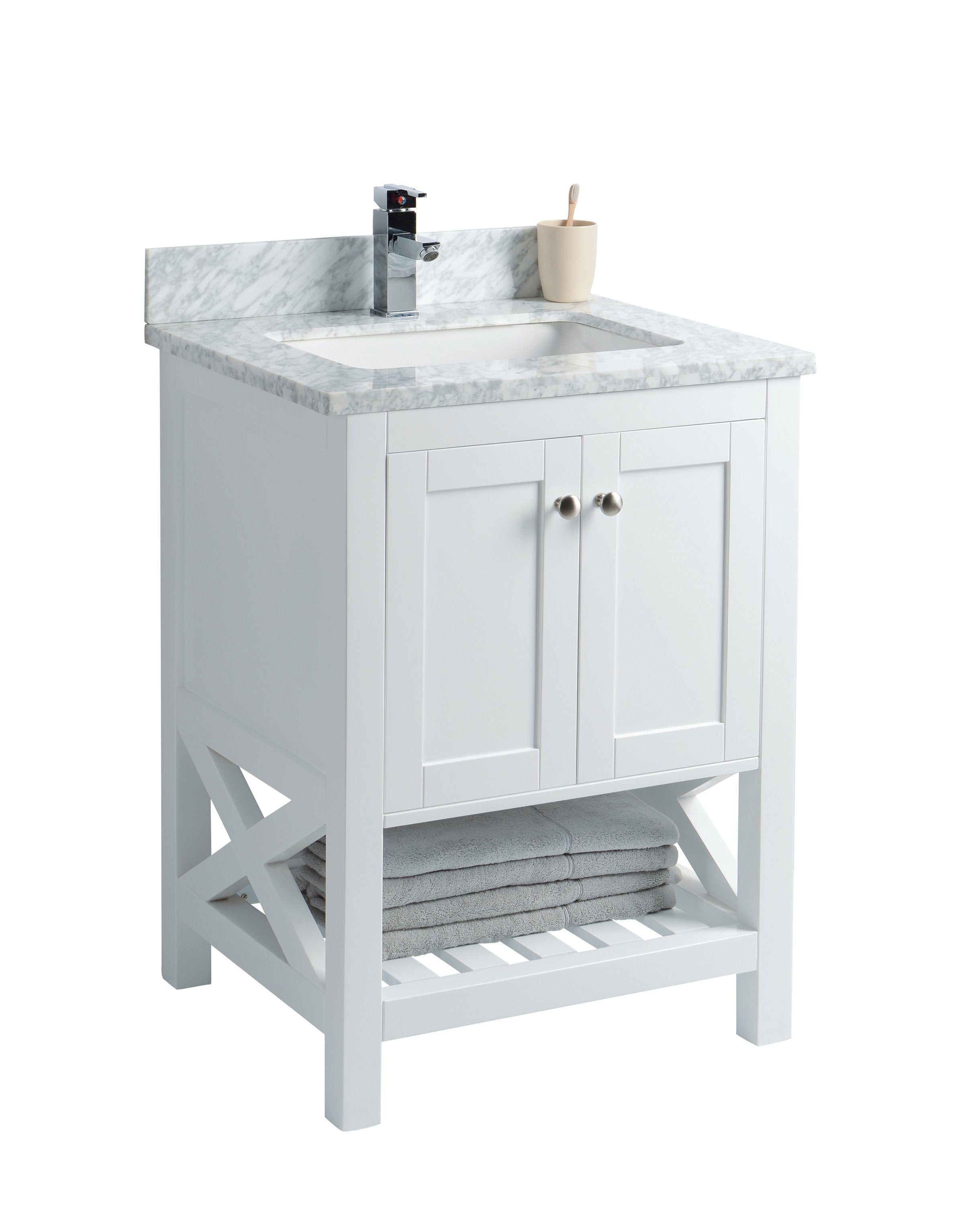 imperial inch bathroom vanities marble adelina white mirrored vanity top