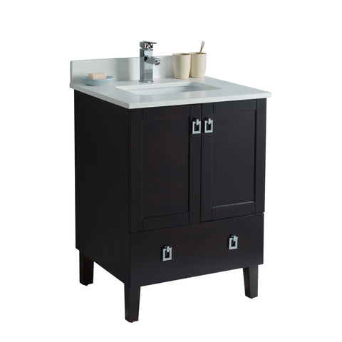 Charmant Tessa Bathroom Vanity In Stained Espresso   24 Inch