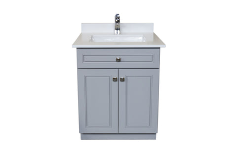 "24"" Bathroom Vanity with Countertop & Sink"