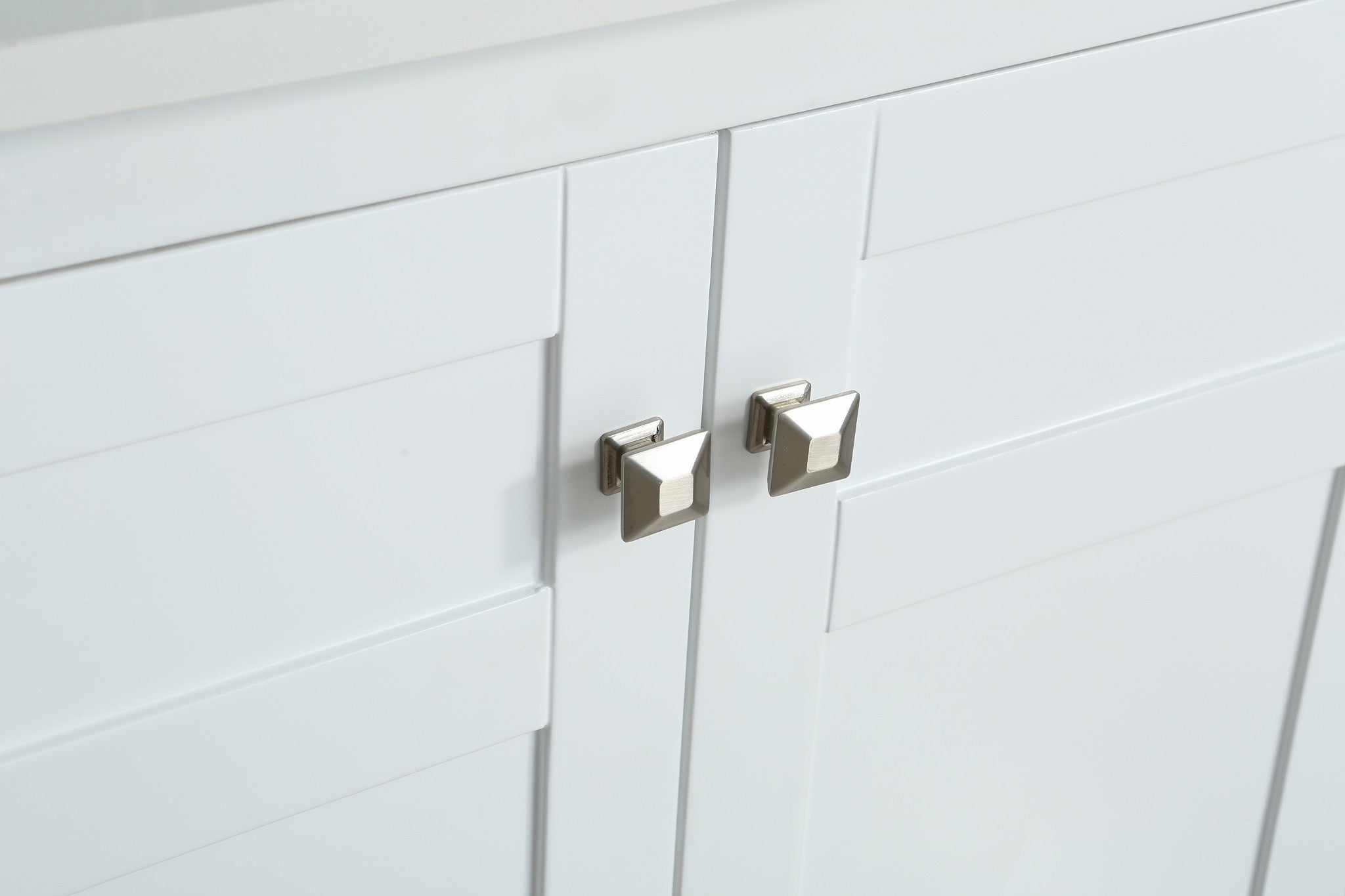 White · Bathroom Cabinet Shaker Doors