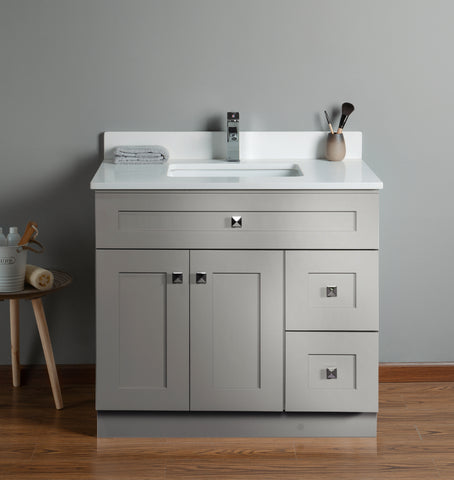 30 inch Bathroom Cabinet with Countertop