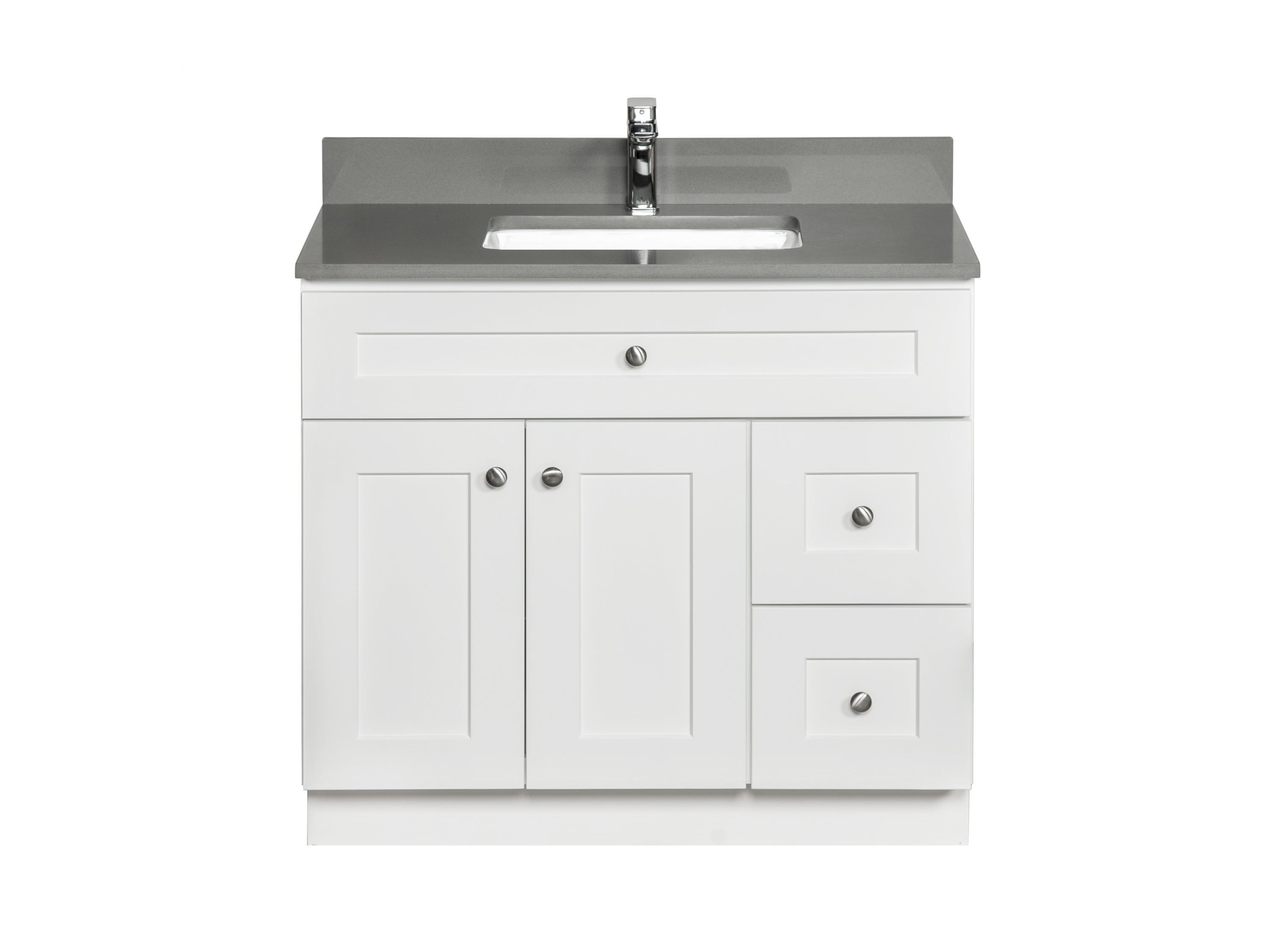 36 Bathroom Vanity In White Broadway Vanities