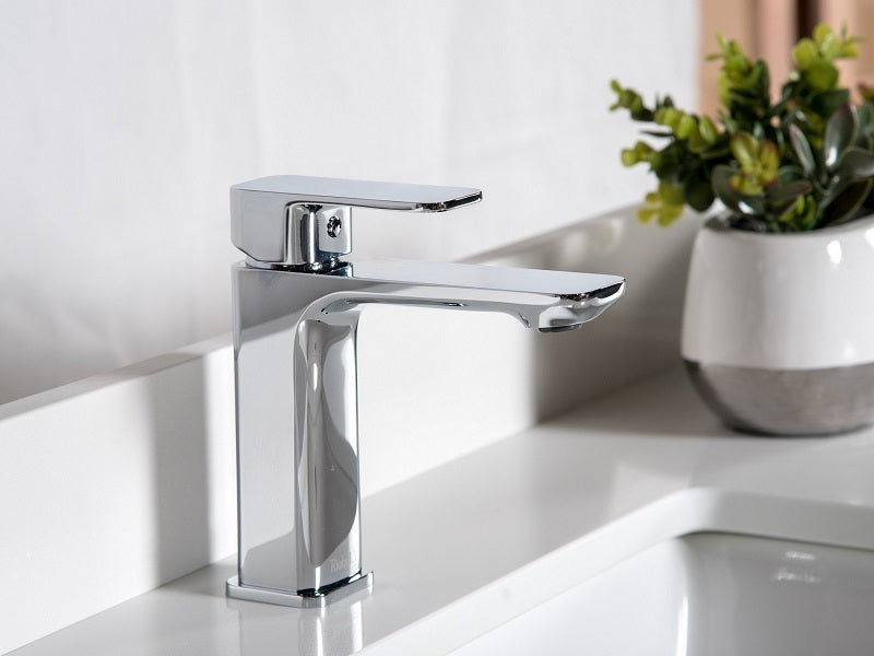 Riobel EQS01C Single Hole Lavatory Faucet – Broadway Vanities