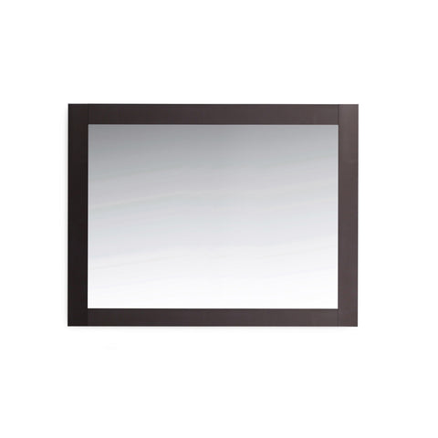 "44"" Espresso Bathroom Mirror"
