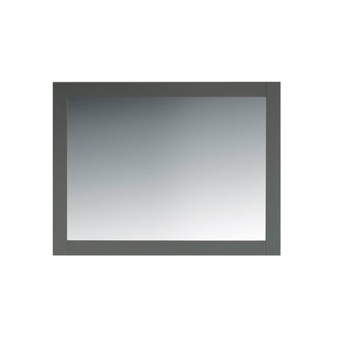 "44"" Grey Bathroom Mirror"