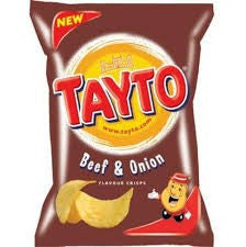 Tayto Beef & Onion.  Out of Stock