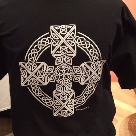 Black Celtic Cross T-Shirt